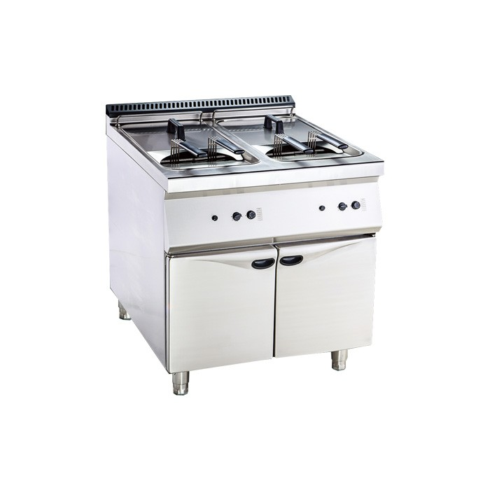Double tank fryer