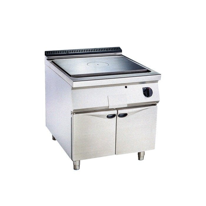 Gas solidtop with oven