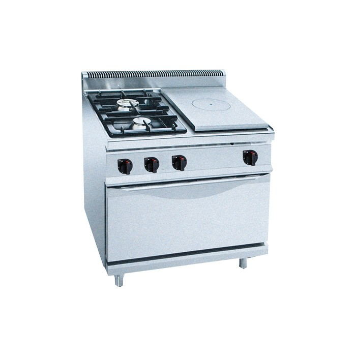 GAS SOLID TOP WITH OVEN/INDUCTION STOVE
